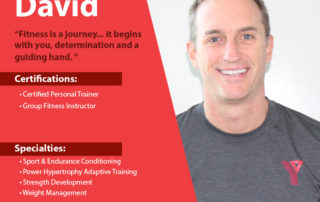 Let David help you with your personal training routine; sign up today!